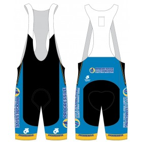 Progressive Cycle Coaching Jersey and Bib Shorts