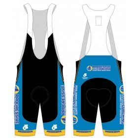 Progressive Cycle Coaching Jersey and Bib Shorts
